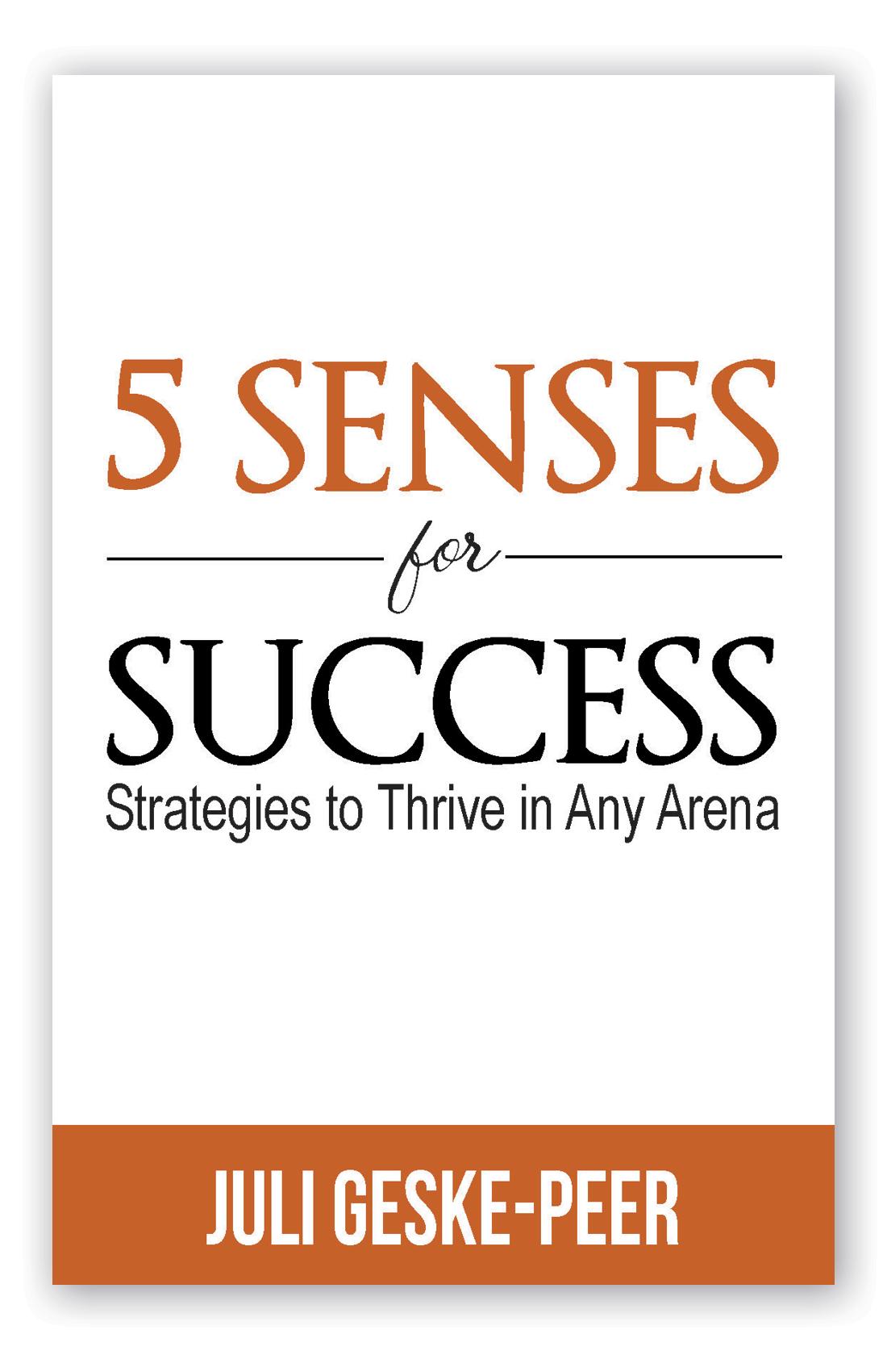 Book Cover 5 Senses for Success