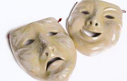 Happy and Sad Feeling Masks